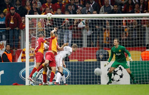 Galatasaray 1 – Manchester United 0 Şampiyonlar Ligi