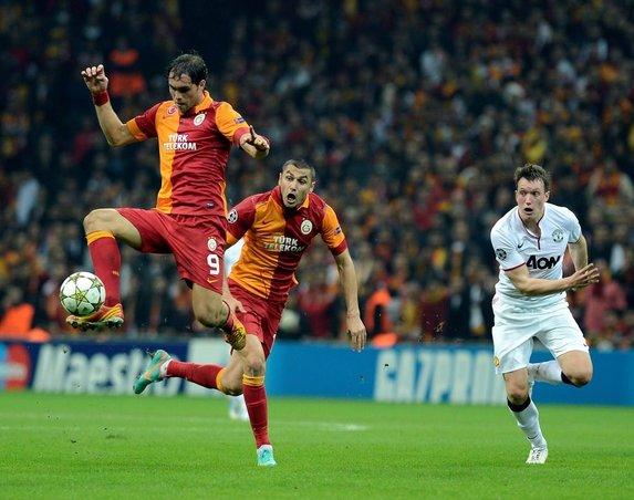Galatasaray M.Ünited Şampiyonlar Ligi Maçı