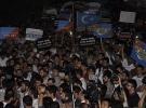 Çin'in Doğu Türkistan'daki saldırıları protesto edildi