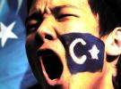 Çin Kanada'nın Toronto kentinde protesto edildi