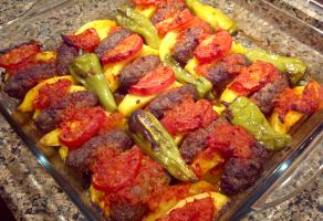 Firinda-Salcali-Patatesli-Kofte