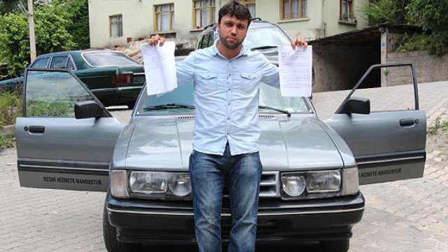 Devletten Aldığı Araba Şasi Numarasız Çıktı