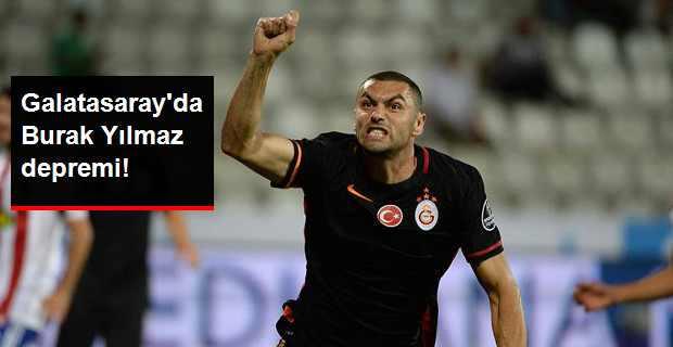 Burak Yılmaz Galatasaray'dan Ayrılmak İstiyor