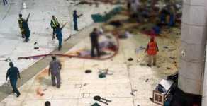 Kabe'de Vinç Devrildi 87 Kişi Hayatını Kaybetti