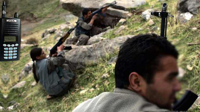 PKK'daki Panik Telsiz Konuşmalarına Yansıdı