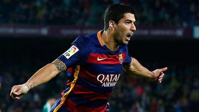 Barcelona Suarez'den Gol Show