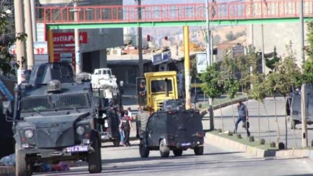 Şırnak'ın Silopi İlçesinde 'Hendek' Operasyonu