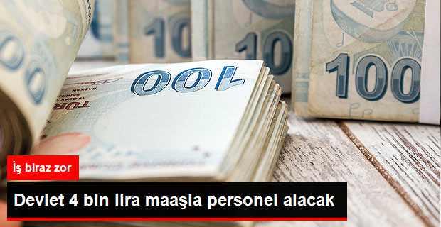 4 Bin Lira Maaşlı Sözleşmeli Er Alınacak