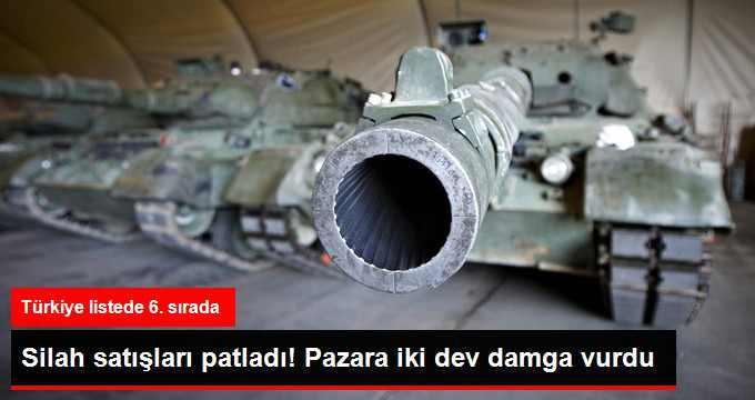 Dünya Silah Pazarına Damgasını ABD ve Rusya Vurdu