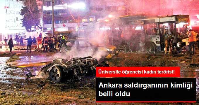 Ankara Saldırısındaki Kadın Teröristin Kimliği Belirlendi