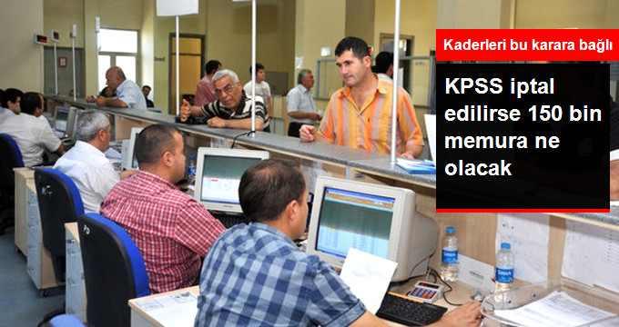 Yapılan KPSS Sınavı İptal mi Ediliyor?