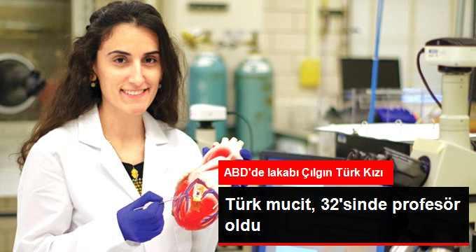 Türk Mucit, 32'sinde Profesör Oldu