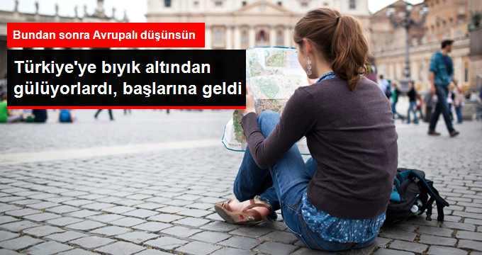 Turizmde Sadece Türkiye Değil, Tüm Avrupa Endişeli!