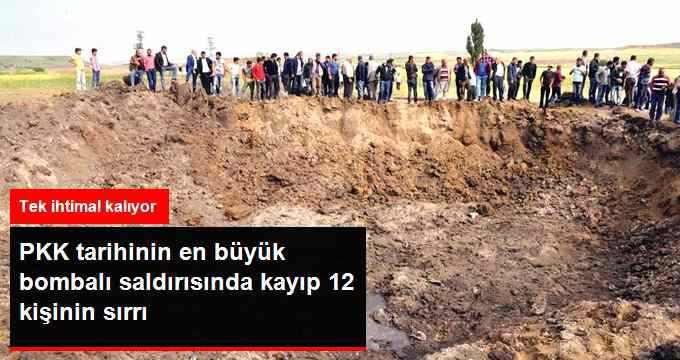 PKK'nın Bombalı Saldırısında Kayıpların Sırrı