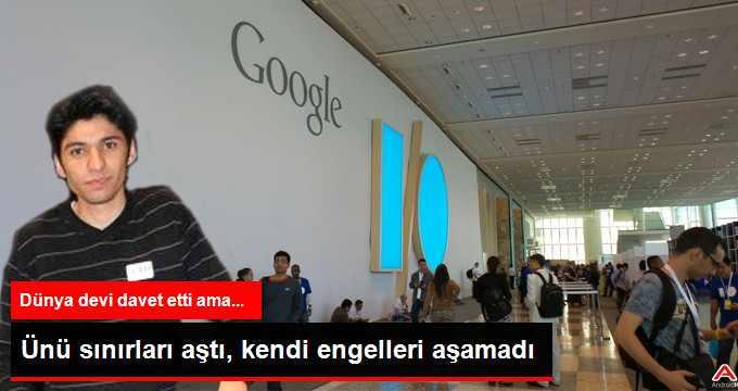 Suriyeli Yazılımcı Google'a Davet Edildi Ama Vize Alamadı