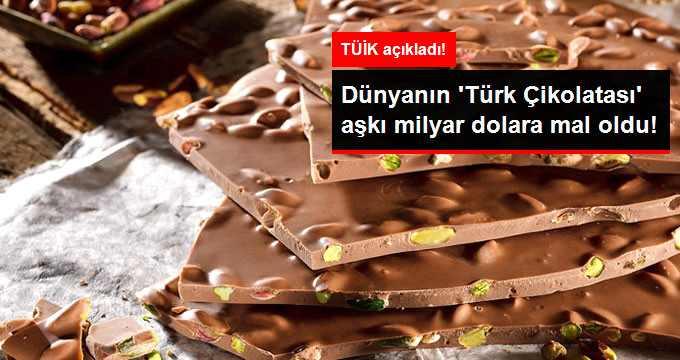 Türkiye'nin Son Beş Yıldaki Çikolata İhracatı 1 Milyar Dolar