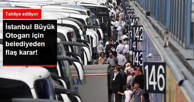 İstanbul Esenler Otogarını İşleten Şirkete Tahliye Kararı