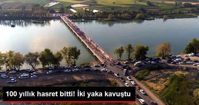 Bafra'da 100 Yıldır Hasreti Çekilen Köprünün Açılışı Yapıldı