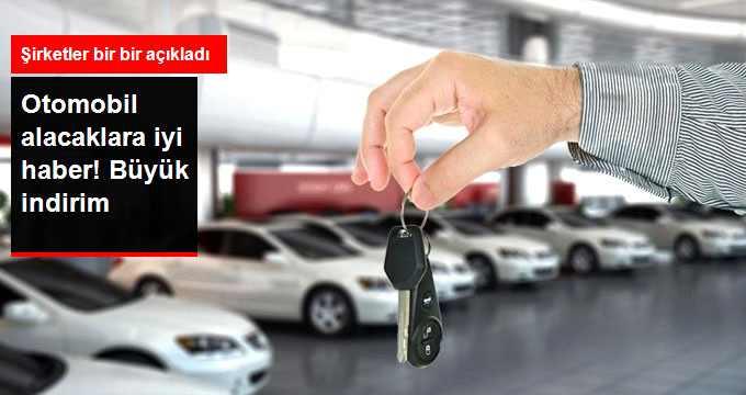 Otomobilde Fiyat İndirimleri 20 Bin Liraya Dayandı