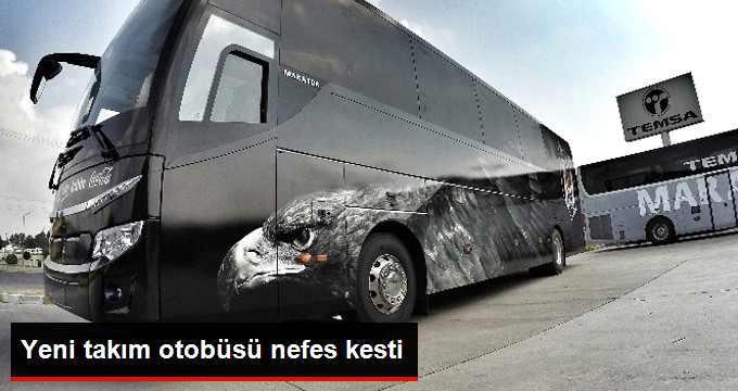 Beşiktaş'ın Yeni Otobüsü Görücüye Çıktı