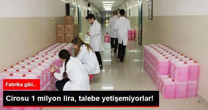 Fabrika Gibi Okul, Yılda 1 Milyon Ciro Yapıyor