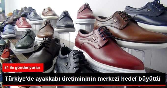Hataylı Ayakkabıcılar Hedef Büyüttü
