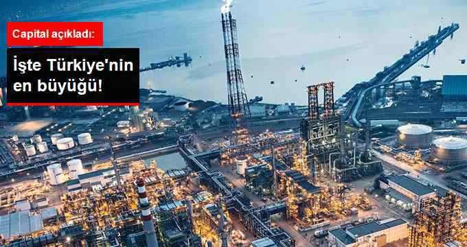 Türkiye'nin En Büyük Şirket Sıralaması
