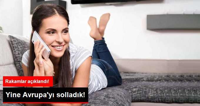 Türkiye En Yüksek Cepten Konuşma Süresine Sahip