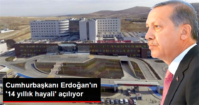 Türkiye'nin İlk Şehir Hastanesi Açılıyor