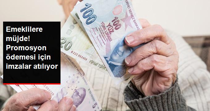 Emeklilerin Beklediği Promosyon Ödemesi Çözüme Kavuşuyor