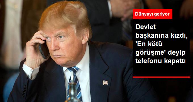 Trump Telefonu Avustralya Başbakanın Yüzüne Kapattı!