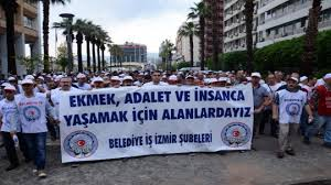 İzmir Büyükşehir Belediyesi Grev'e Gidiyor