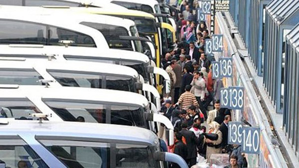 Bayram'da Otobüs için Ek Seferler Yapılabilecek