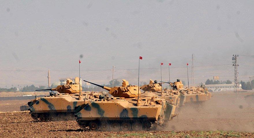 Türk Silahlı Kuvvetleri Habur'da Tatbikatta