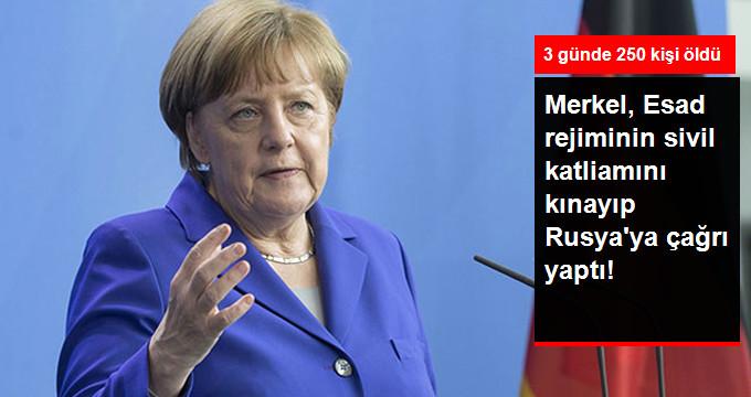 Merkel'den Açıklama: Rusya ile Temas Halinde Olacağız