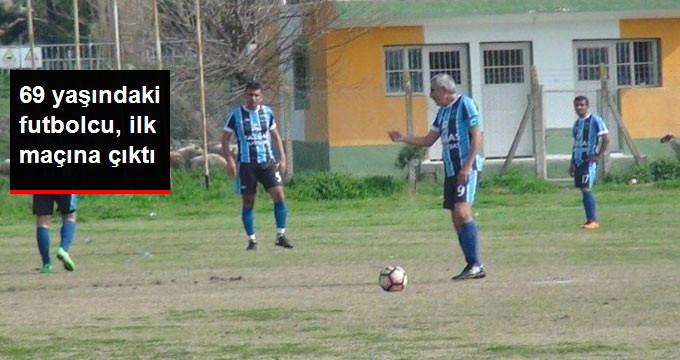 69 Yaşındaki Futbolcu, Osmaniye'de İlk Maçına Çıktı