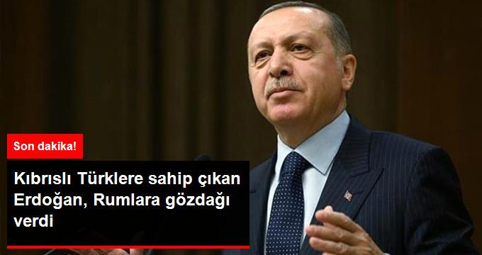 Başkan Erdoğan'dan Kıbrıs'a Destek
