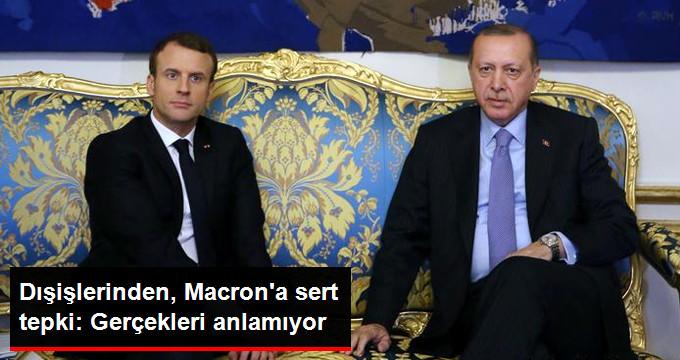Macron'un Türkiye'nin AB Üyeliği İle İlgili Sözlerine Sert Tepki