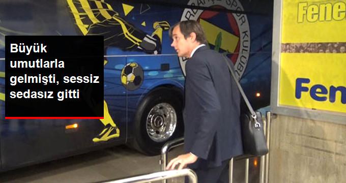 Fenerbahçe'ye Büyük Umutlarla Gelen Cocu, Sessiz Sedasız Gitti
