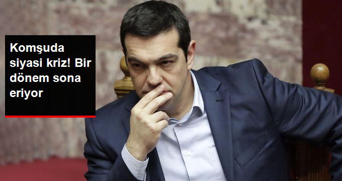 Yunanistan'da Siyasi Kriz! Koalisyon Hükümeti Sona Eriyor