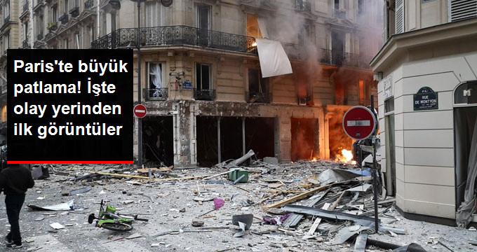 Fransa'nın Başkenti Paris'teki Fırında Patlama: 2 Ölü, 47 Yaralı