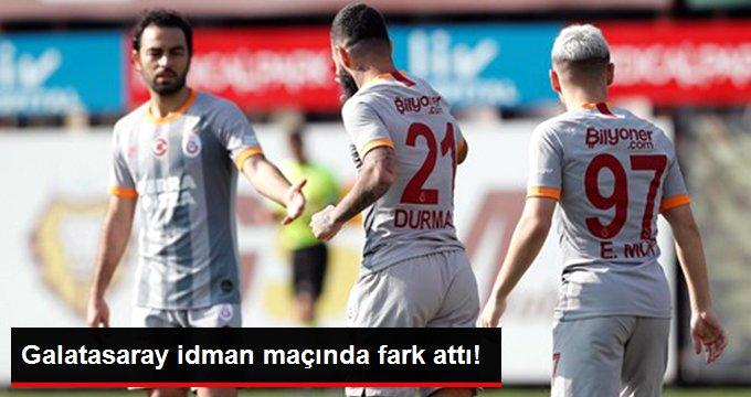 Galatasaray, Ümraniyespor'u 4-0 yendi