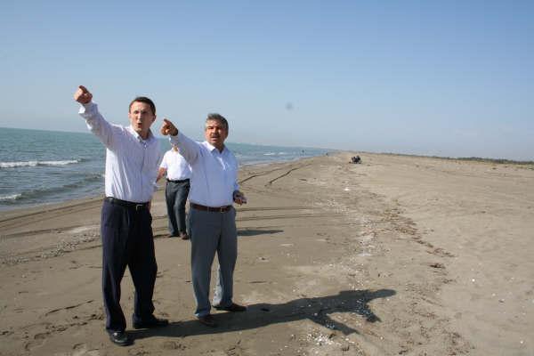 Hayrettin Özaltın, Tarsus-Kazanlı Turizm Bölgesi'ni Ziyaret Etti