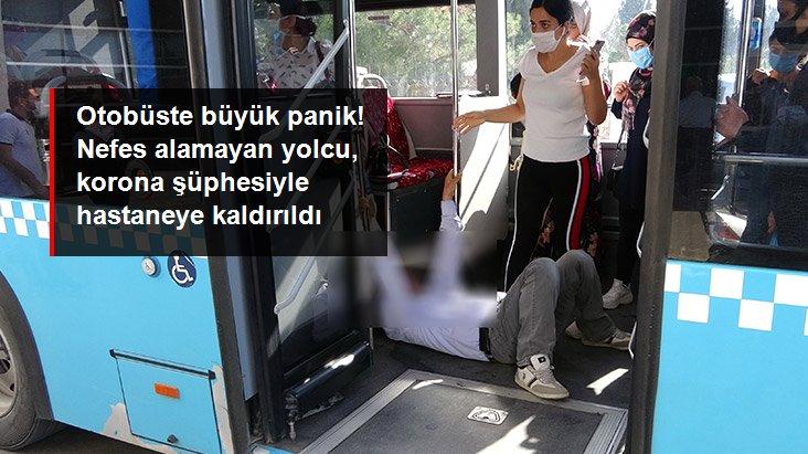Otobüsteki Koronavirüs Şüphelisi, Hastaneye Kaldırıldı