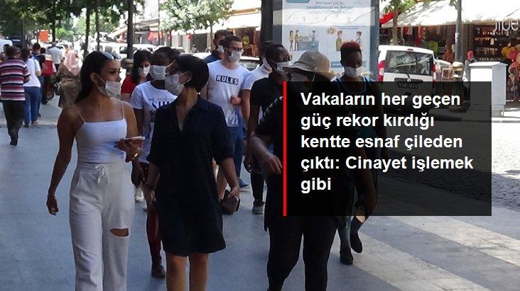 Diyarbakır'da Esnaf, Maske Takmayanlara Tepki Gösterdi