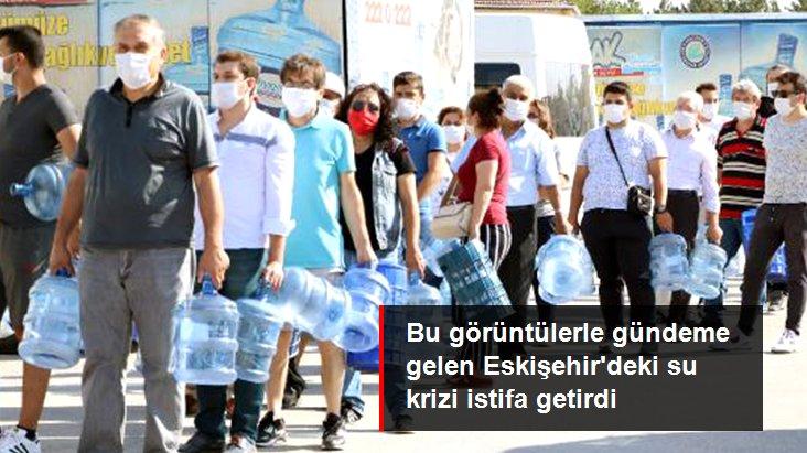 Eskişehir'de Su Krizi İstifa Getirdi