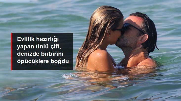Sylvie Meis, Nişanlısıyla Denize Öpüşürken Yakalandı