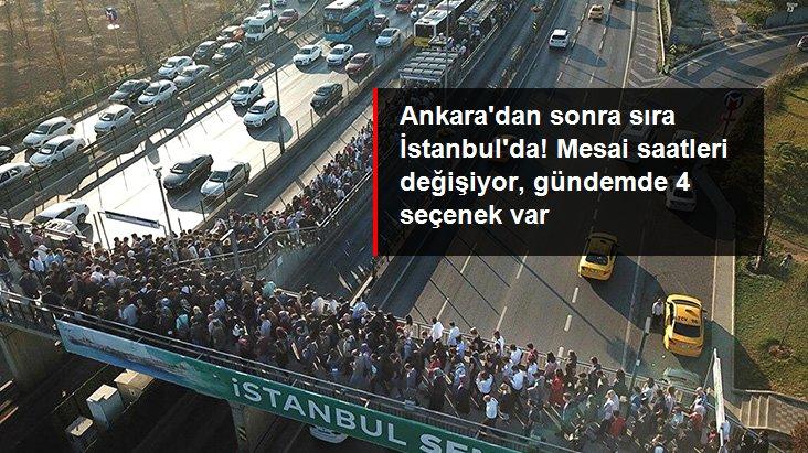 Artan Vakalar Sonrası İstanbul'da Mesai Saatleri Değişiyor!