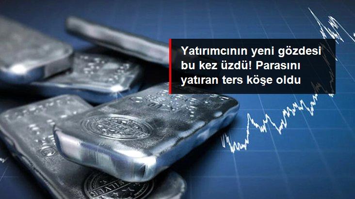 Dolar Güçlenince Gümüş Fiyatları Yüzde 8'den Fazla Düştü