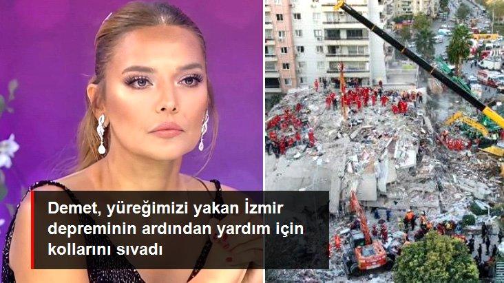 Demet Akalın, İzmir'deki Depremzedelere Yardım Eli Uzattı